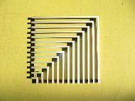 БРИЗ (фото углового соединения, решетка)
